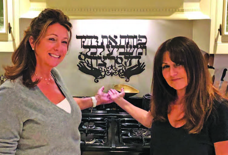 Made With Love's Lesley Adams (left) and Yochy Davis (right) required military planning to meet all their orders