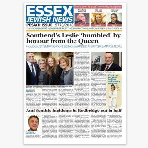 Essex Jewish News Pesach 2018